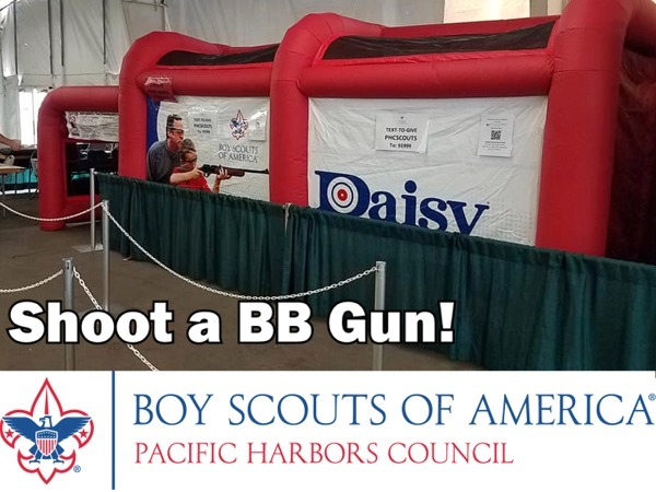 BSA BB Gun Shooting Gallery